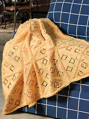 Summer Windows Throw Knit Pattern