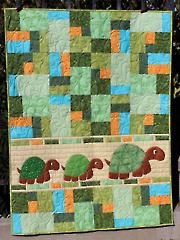 Double Jumble Turtle Quilt Pattern