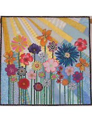 Whimsical Garden Quilt Pattern