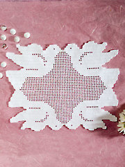 Turtledoves Doily Kit