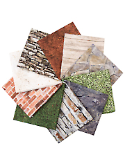 Naturescapes Urban Oasis Fat Quarters - 10/pkg.