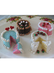 Fairy Cakes Crochet Pattern