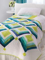 EXCLUSIVELY ANNIE'S QUILT DESIGNS: Cascades Quilt Pattern