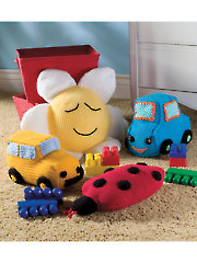 Pillow Toys for Playtime Crochet Pattern