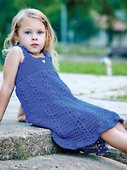 Blue Moon Sundress Crochet Pattern