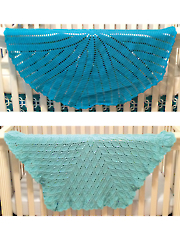 Millstone and Diamond in the Rough Baby Blankets Crochet Pattern