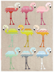 Florence Flamingo Quilt Pattern