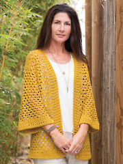 ANNIE'S SIGNATURE DESIGNS: Cuyama Cardi Crochet Pattern