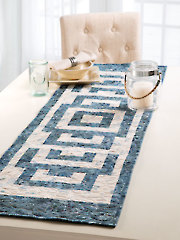 EXCLUSIVELY ANNIE'S QUILT DESIGNS: Town Square Table Runner Pattern
