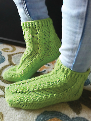 Erin Slippers Crochet Pattern