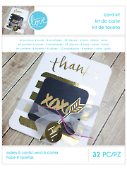 Black & Gold Card Kit - 32 Pc.