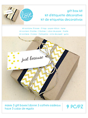 Gift Box Kit - 9 Pc.