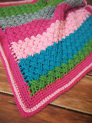 Woven Love Blanket Crochet Pattern