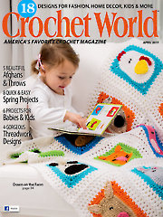 Crochet World April 2017