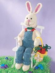 Rabbit & Basket Crochet Pattern