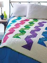 Streamers Quilt Pattern