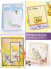 Religious Easter Greeting Cards 2