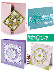 Spring Tea Bag Greeting Cards