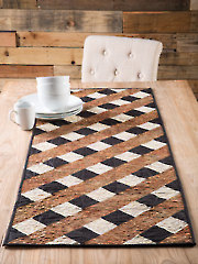 EXCLUSIVELY ANNIE'S QUILT DESIGNS: Over & Under Table Runner Pattern