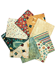 A Stitch in Time Fat Quarters - 9/pkg.