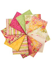 Radiance Pink Metallic Fat Quarters - 12/pkg.