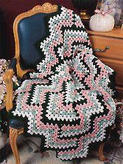 Diamond Zigzag Afghan