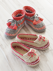 ANNIE'S SIGNATURE DESIGNS: Adult Moccasin Crochet Pattern