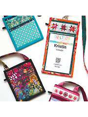 ID Badge Holder Sewing Pattern