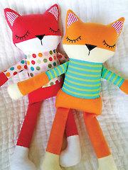Sleepy Fox Softies Sewing Pattern