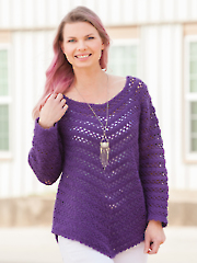 Grapevine Sweater Crochet Pattern