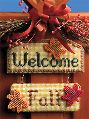 Seasonal Welcome Sign