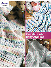 Peaceful Pastel Baby Afghans Crochet Pattern