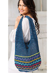 Vagabond Shoulder Bag Crochet Pattern