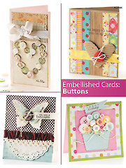 Embellished Cards: Buttons