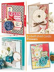Embellished Cards: Flowers