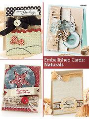 Embellished Cards: Naturals