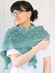 Then Comes Spring Shawl Knit Pattern