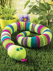 Jake the Snake Crochet Pattern