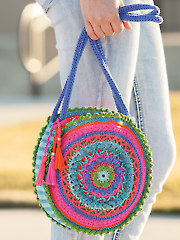 ANNIE'S SIGNATURE DESIGNS: Mandala Bag Crochet Pattern