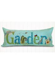 A Year in Words Pillow Pattern - Garden
