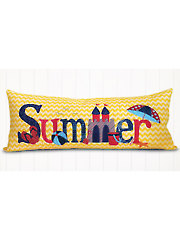A Year in Words Pillow Pattern - Summer