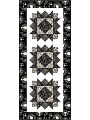 Star Flower Table Runner Quilt Pattern