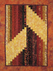 Escalate Quilt Pattern