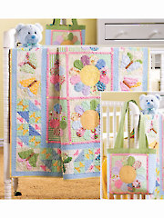 Butterfly Hoedown Quilt Pattern with Tote