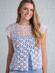 Blissful Blooms Top