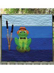 Boss Frog Quilt Pattern