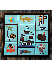 Pirates Booty Quilt Pattern