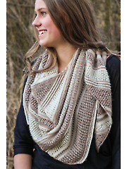 Aire Shawl Knit Pattern