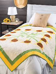 Black-Eyed Susan Quilt Pattern