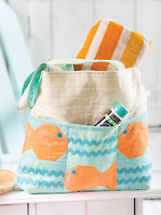 I Need Vitamin Sea Beach Tote Pattern
